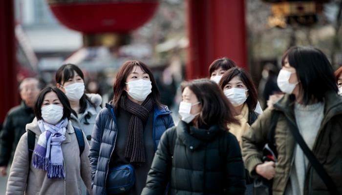 اليابان تُسجل 270 إصابة جديدة بكورونا