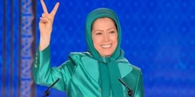رجوي توجه التحية للمشاركين في الانتفاضة ضد ملالي طهران
