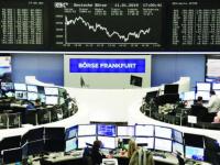 مؤشرات البورصة الأوروبية تغلق على خسائر فادحة