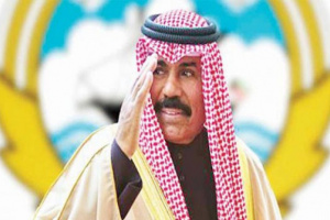 أمير الكويت يهنئ السعودية بنجاح عملية ولي العهد