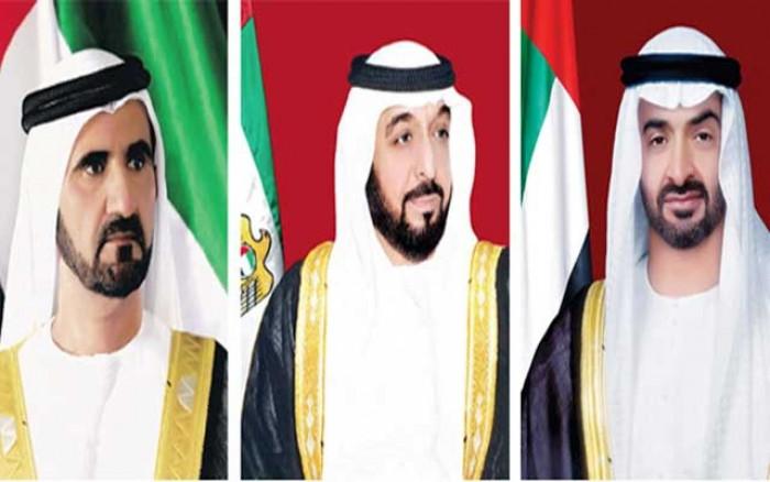 رئيس الإمارات وبن راشد وبن زايد يهنئون رئيس الدومينيكان بمناسبة اليوم الوطني