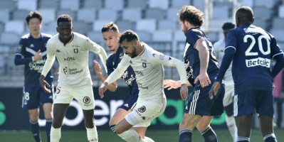 ميتز يهزم بوردو ويرتقي للمركز الخامس في الدوري الفرنسي