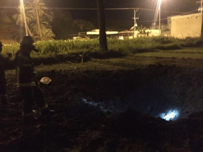 الدفاع المدني السعودي يباشر سقوط شظايا صاروخ حوثي