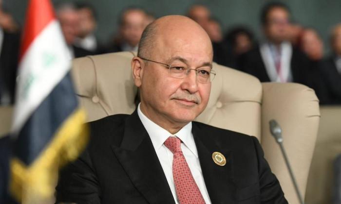 الرئيس العراقي: ضرورة حماية حق التظاهر السلمي وحفظ الأمن