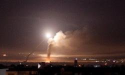 الدفاعات السورية تتصدى لهجوم صاروخي إسرائيلي