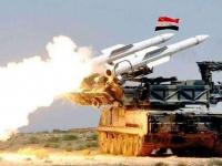 الجيش السوري يُعلن التصدي لمعظم الصواريخ الإسرائيلية