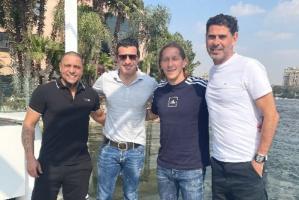 القاهرة تعيد ذكريات فيجو مع نجوم فريق الأحلام لريال مدريد
