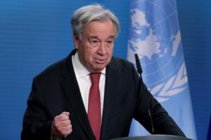 غوتيريش يدعو أطراف النزاع للتعاون مع المبعوث الأممي