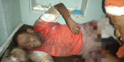 قذيفة حوثية تقتل وتصيب شقيقين في حيس