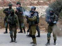إصابة عدد من الفلسطينيين بالإختناق نتيجة إطلاق الغاز المسيل للدموع