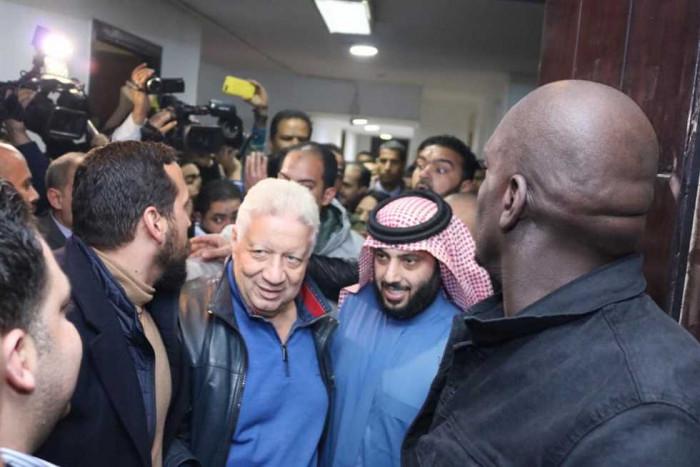 حقيقة رغبة تركي آل الشيخ لشراء نادي الزمالك المصري