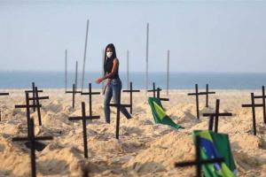 كورونا.. البرازيل تسجل 60 ألف إصابة جديدة