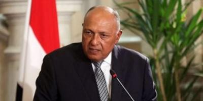 وزير الخارجية المصري: نسعى لإعادة المفاوضات الفلسطينية الإسرائيلية