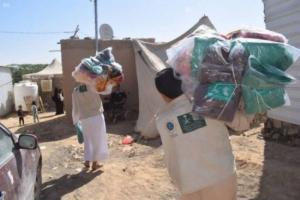1300 حقيبة شتوية للأسر بتريم