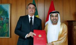 السفير الإماراتي يلتقي بالرئيس البرازيلي ضمن اجتماع لسفراء التعاون الخليجي