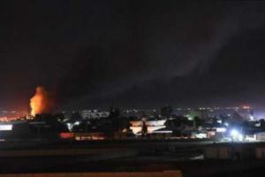 مقتل شخص وإصابة 10 آخرين في ضربات صاروخية بسوريا