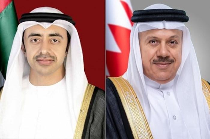 الشيخ عبد الله بن زايد يترأس أعمال اللجنة المشتركة بن الإمارات والبحرين