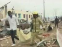 ارتفاع حصيلة وفيات في انفجارات غينيا إلى 98 قتيلا