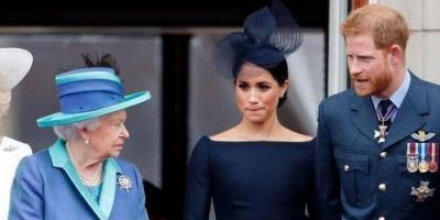 """الملكة إليزابيث ترد على التصريحات المثيرة لـ""""ميغان"""""""