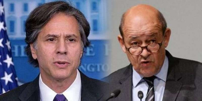 أمريكا وفرنسا تبحثان الملف الإيراني وتطورات الوضع في ليبيا