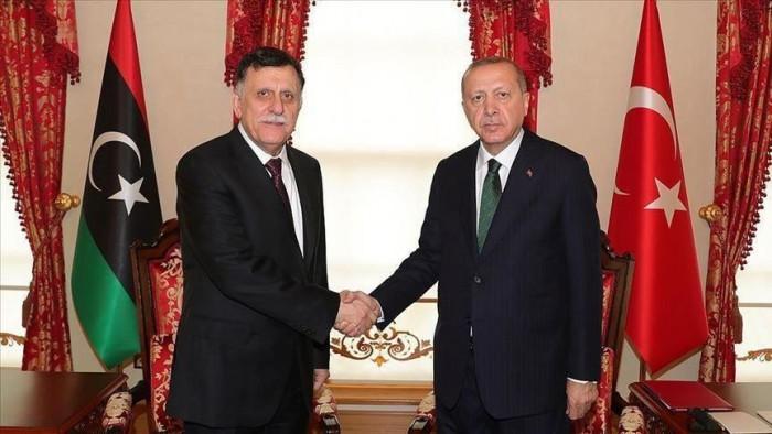 الجنائية الدولية تقبل دعوى ضد جرائم أردوغان والسراج  في ليبيا