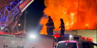 اندلاع حريق في دار مسنين بنويورك
