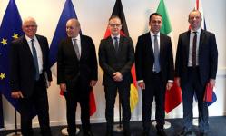 وزراء خارجية ألمانيا وفرنسا وإيطاليا يصلون ليبيا في زيارة مشتركة