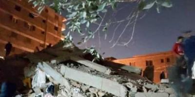 ظل 15 ساعة.. إنقاذ رضيع أسفل العقار المنهار بمصر