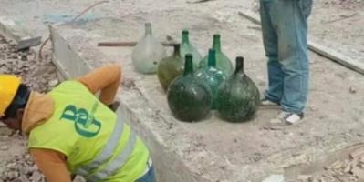 العثور على 15 قنينة أثرية مدفونة بالمغرب