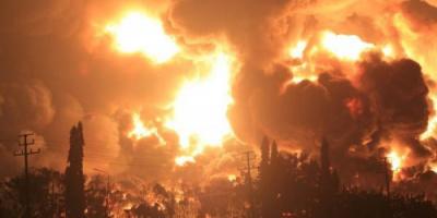 إصابة 20 شخصًا في حريق ضخم بمصفاة بإندونيسيا