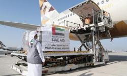 الإمارات تغيث إثيوبيا بطائرة مساعدات تحمل 46 طنًا