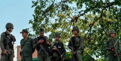 فنزويلا.. مصرع جنديين في انفجار لغم أرضي