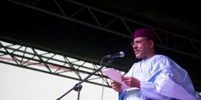 تنصيب محمد بازوم رئيسًا للنيجر