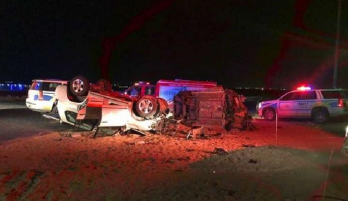 السعودية.. مصرع وإصابة 12 شخصًا في حادث سير