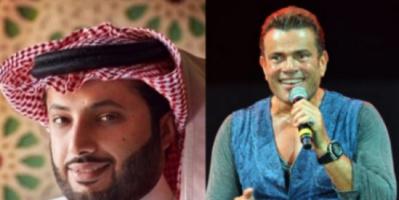 عمرو دياب يهدي آل الشيخ هدية خاصة