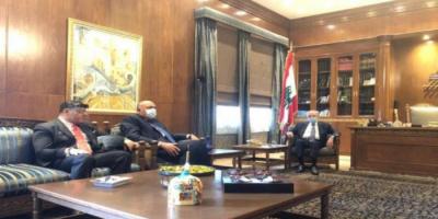 تفاصيل لقاء وزير الخارجية المصري مع رئيس مجلس النواب اللبناني