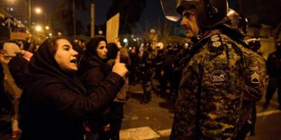 حملة اعتقالات إيرانية لأفراد عائلات ضحايا احتجاجات 2019