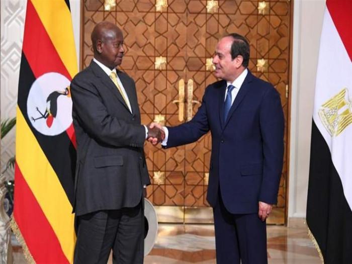 أوغندا تُعلن توقيع اتفاقية عسكرية مع مصر