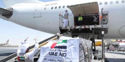 الإمارات تُرسل طائرة مساعدات إلى سوريا