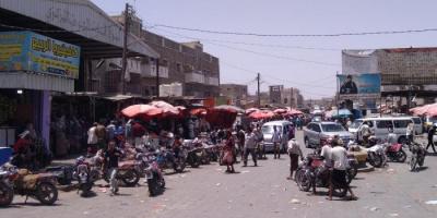 أهالي الحوطة يطالبون السلطة الإخوانية بتنظيم حركة السير