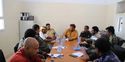 """""""انتقالي سقطرى"""" يقود جهود تطوير مركز الشامل الأمني"""