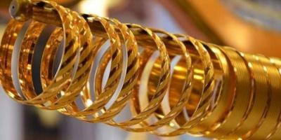 انخفاض أسعار الذهب بالأسواق اليمنية اليوم الجمعة