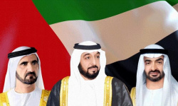 رئيس الإمارات وبن راشد وبن زايد يعزون الملكة إليزابيث في وفاة الأمير فيليب
