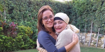 ريهام عبدالغفور تحتفل بعيد ميلاد شقيقتها