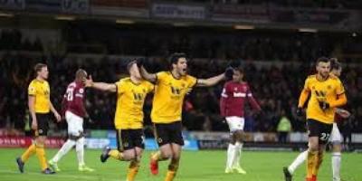 فوز ثمين لوولفرهامبتون على فولهام في الدوري الإنجليزي
