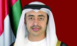 عبد الله بن زايد يستقبل المبعوث الأممي الخاص إلى ليبيا