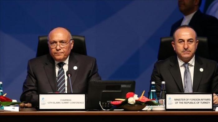 وزير الخارجية التركي يهنئ نظيره المصري بحلول شهر رمضان