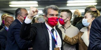 لابورتا: سنواصل القتال من أجل الفوز بالليجا