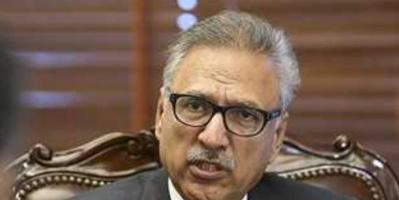 الرئيس الباكستاني يعلن تعافيه من فيروس كورونا