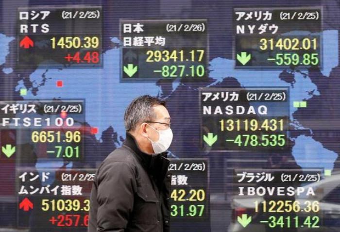 عقب ارتفاع الإصابات بكوفيد-19.. مؤشرات بورصة اليابان تغلق باللون الأحمر